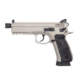 "CZ CZ 75 SP-01 Tactical Suppressor Ready 5.2"" 9mm NS Urban Grey 18rd"