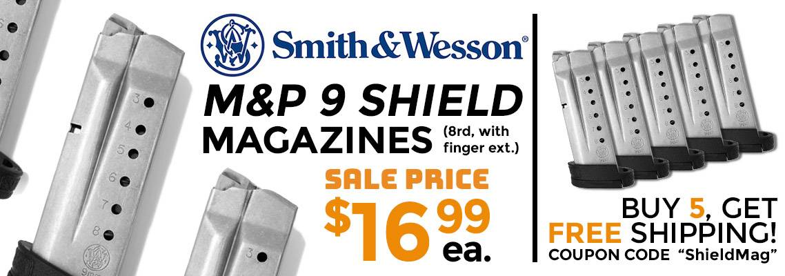 S&W M&P 9 Shield Magazines