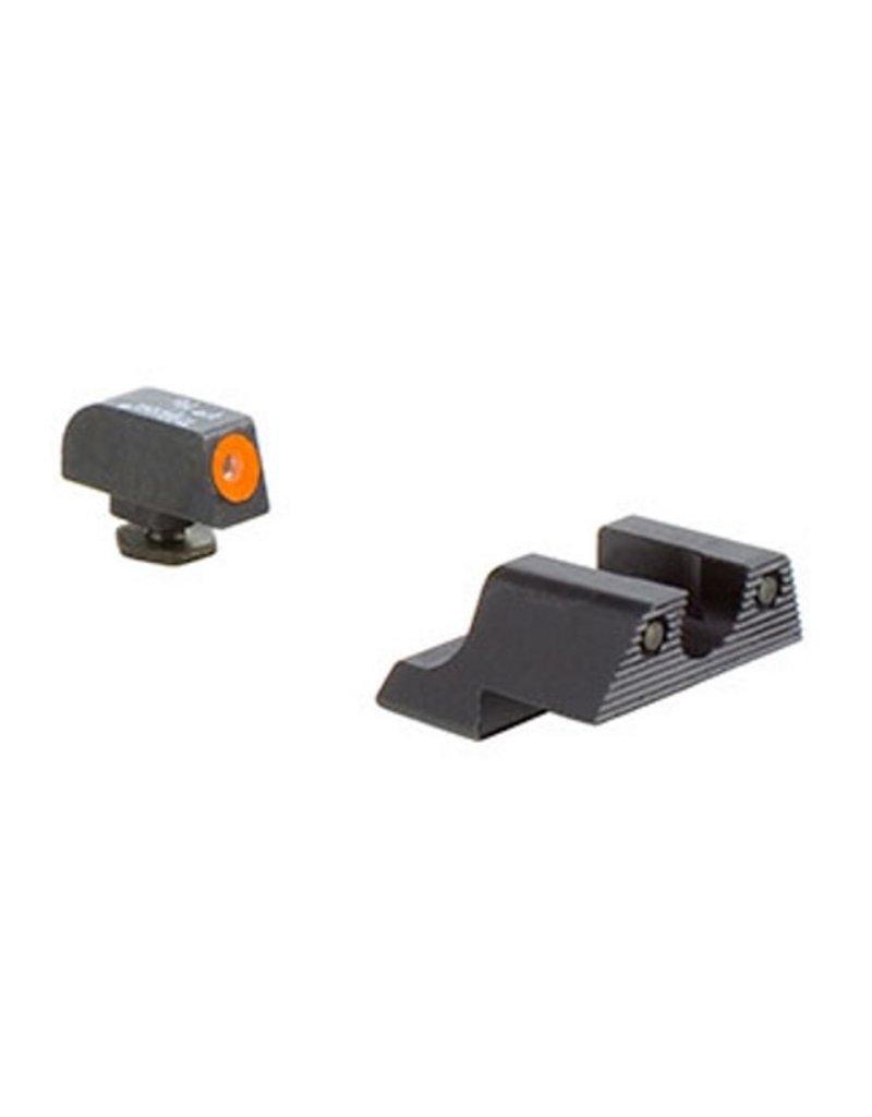 Trijicon Trijicon HD Night Sights Orange Front Outline for Glock 42, 43 (GL113-C-600785)
