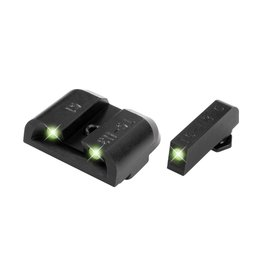 TruGlo TruGlo Tritium Green/Green Night Sights for Glock 17, 19, 26, 22, 23,27, 33, 34, 35, 38, 39