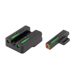 TruGlo TruGlo TFX Pro Green,Orange/Green Fiber Optic Night Sights for H&K VP9, P30, & HK45