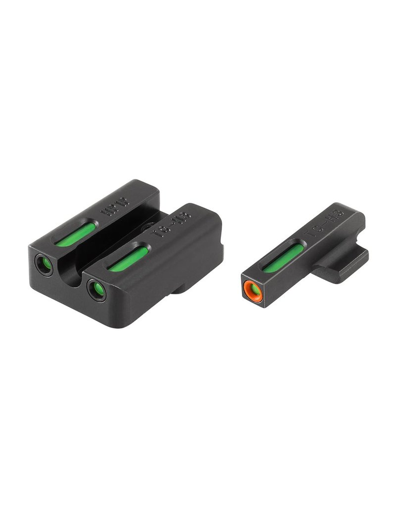 TruGlo TruGlo TFX Pro Green,Orange/Green Fiber Optic Night Sights for H&K VP9, P30, & HK45 (TG13HP1PC)