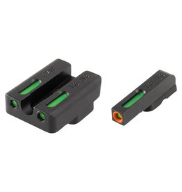 TruGlo TruGlo TFX Pro Green,Orange/Green Fiber Optic Night Sights for CZ 75