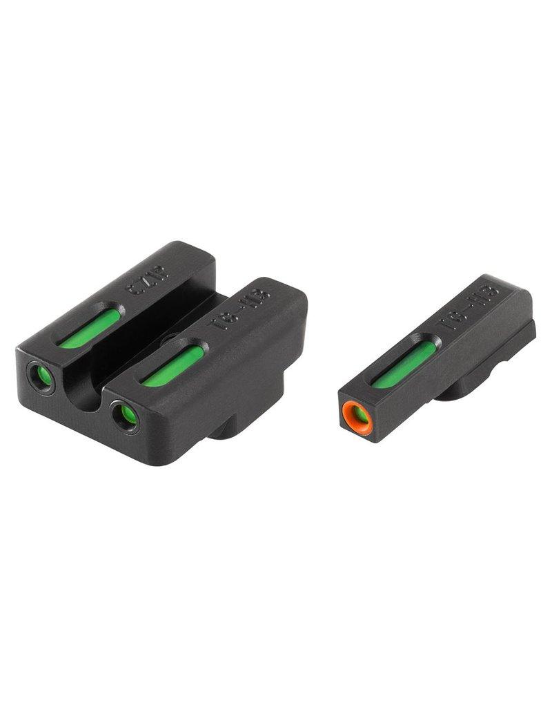 TruGlo TruGlo TFX Pro Green,Orange/Green Fiber Optic Night Sights for CZ 75 (TG13CZ1PC)