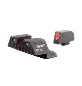 Trijicon Trijicon HD Night Sights Orange Front Outline for Glock 17, 19, 26, 22, 23,27, 33, 34, 35