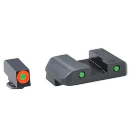 AmeriGlo AmeriGlo Spartan Tactical Night Sights for Glock 20, 21, 29, 30, 31, 32, 36, 41