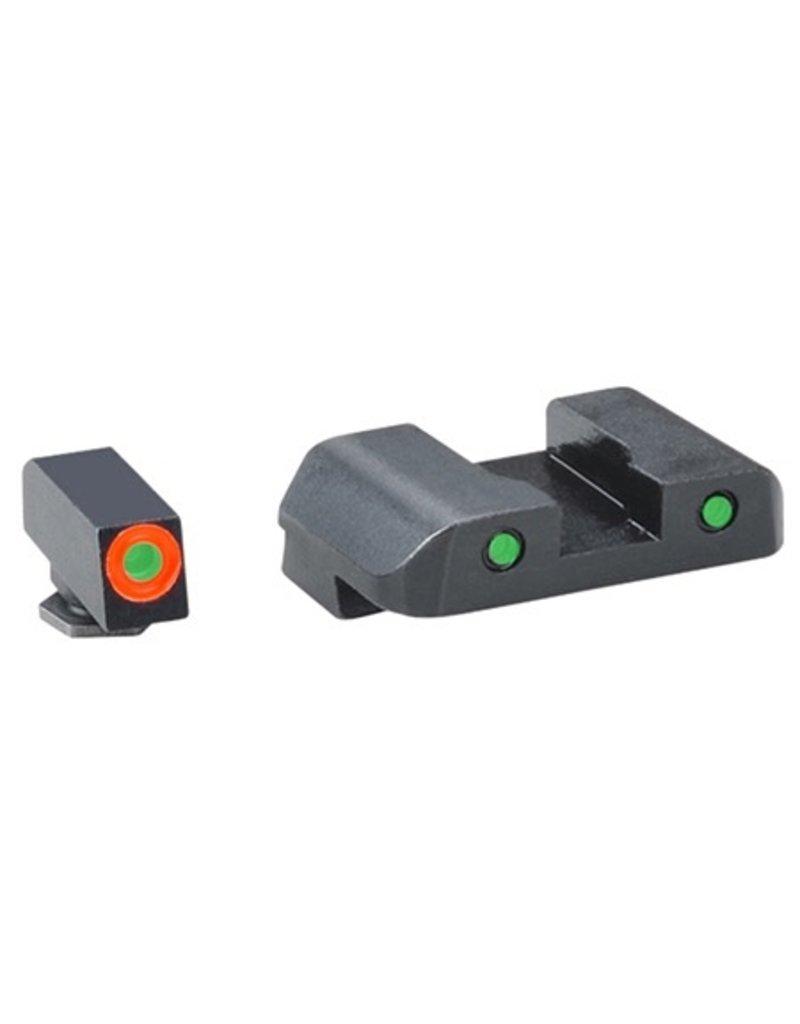 AmeriGlo AmeriGlo Spartan Tactical Night Sights for Glock 20, 21, 29, 30, 31, 32, 36, 41 (GL-448)