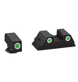 AmeriGlo AmeriGlo Classic Night Sights for Glock 42 (White Outline Front And Rear Sight)