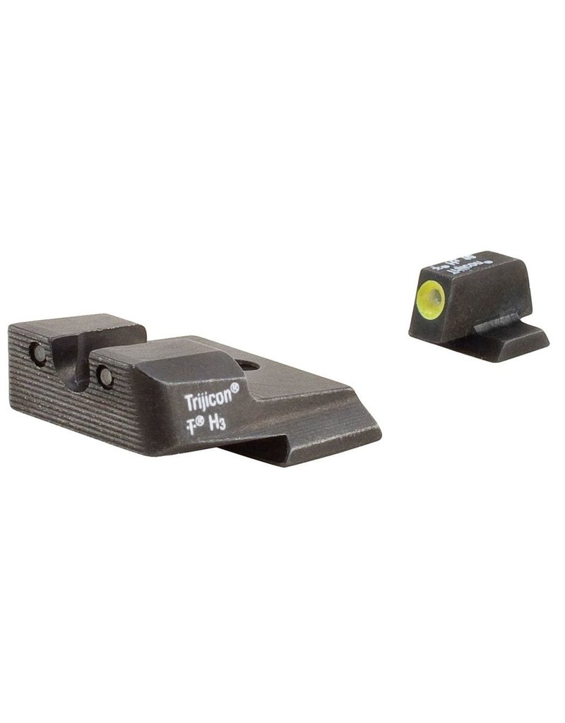 Trijicon Trijicon HD Night Sights Yellow Front Outline for S&W M&P (SA137Y)
