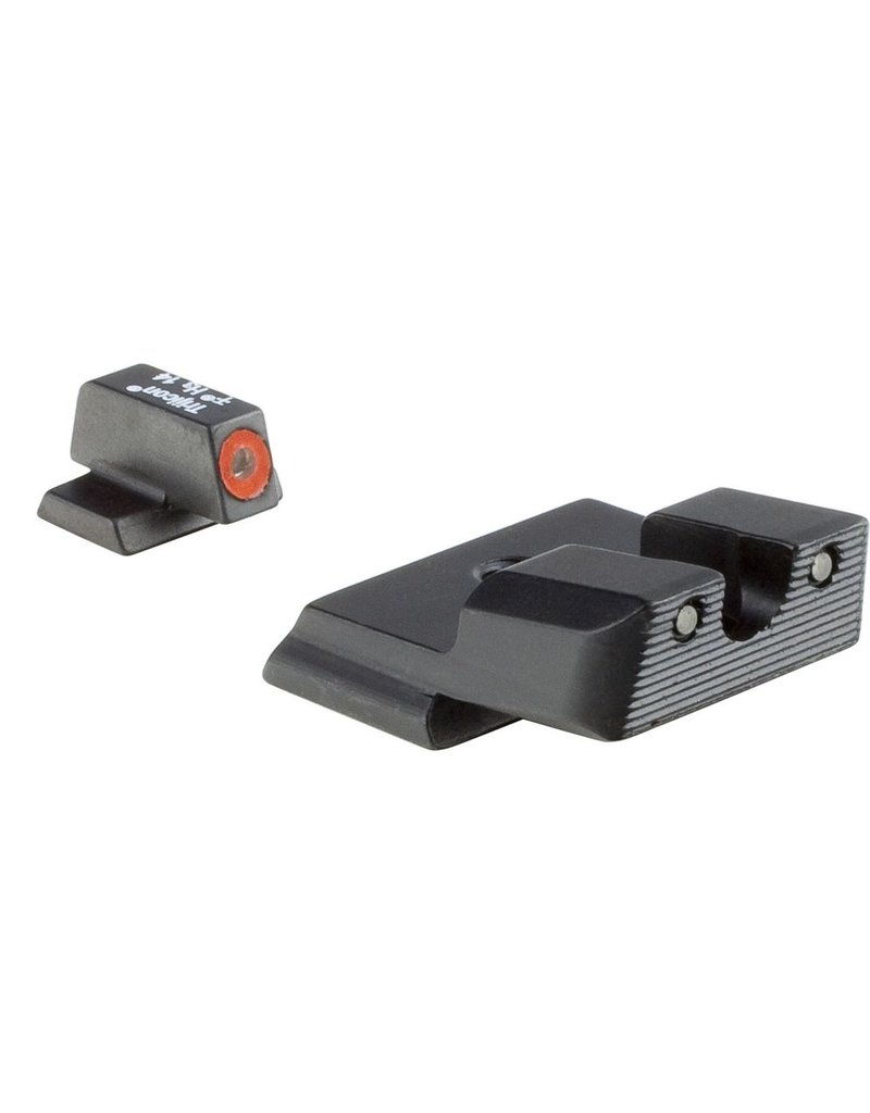 Trijicon Trijicon HD Night Sights Orange Front Outline for S&W M&P Shield (SA139-C-600722)