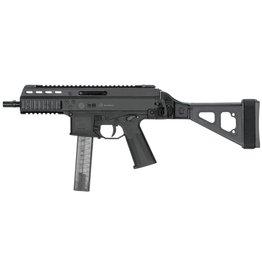 """B&T B&T APC9 Pistol 6.9"""" 9mm Folding Sights Black 30rd w/ Stabilizing Brace"""