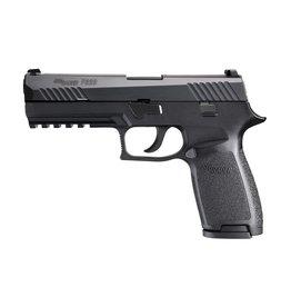 """Sig Sauer Sig Sauer P320F 4.7"""" 9mm FS Black 17rd"""
