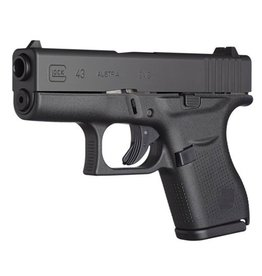 "Glock Glock 43 3.39"" 9mm FS Black 6rd (Factory Rebuilt)"