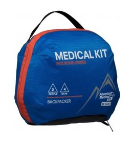 "Adventure Medical Adventure Medical Kits Mountain Backpacker Medical Kit 7.5""x3.5""x6"" .95lbs"