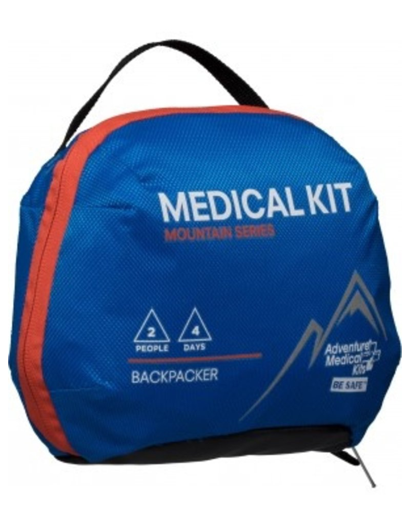 "Adventure Medical Adventure Medical Kits Mountain Backpacker Medical Kit 7.5""x3.5""x6"" .95lbs (0100-1003)"