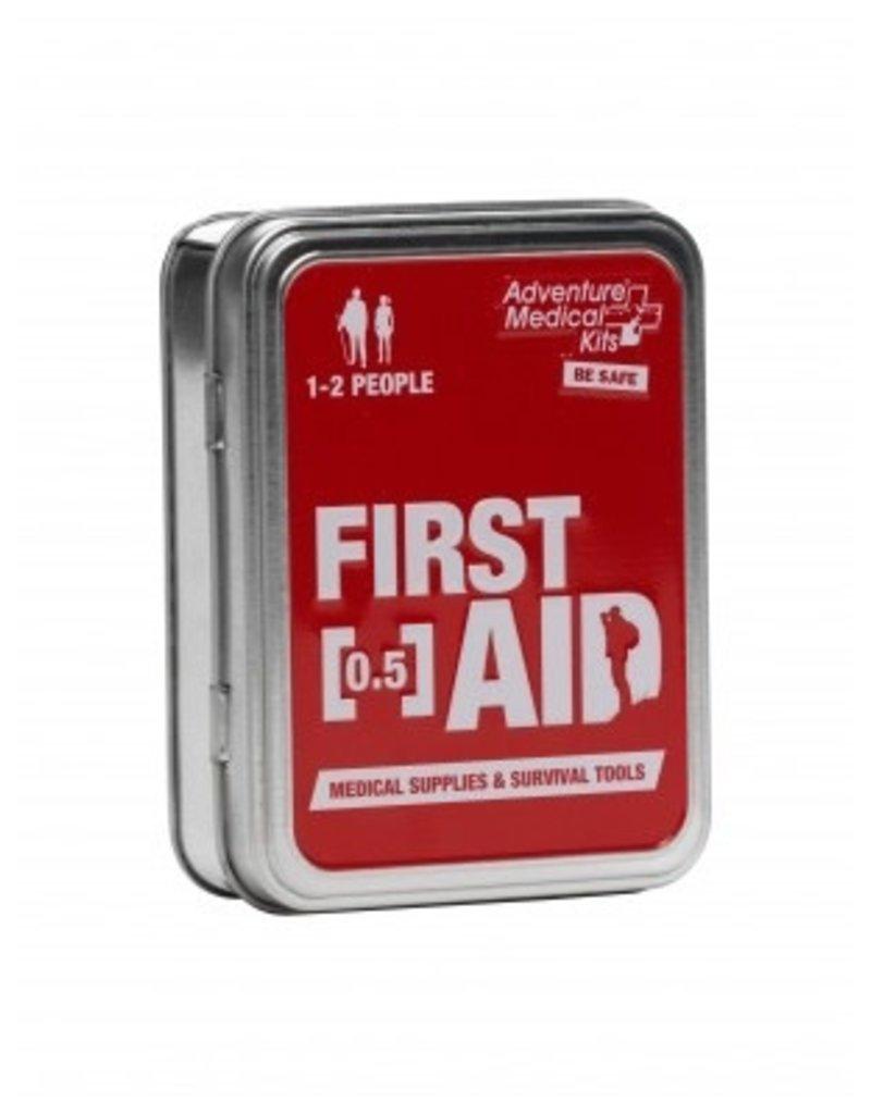 """Adventure Medical Adventure Medical Kits Adventure First Aid .5oz Tin 4""""x3""""x1.25"""" .22lbs (0120-0203)"""