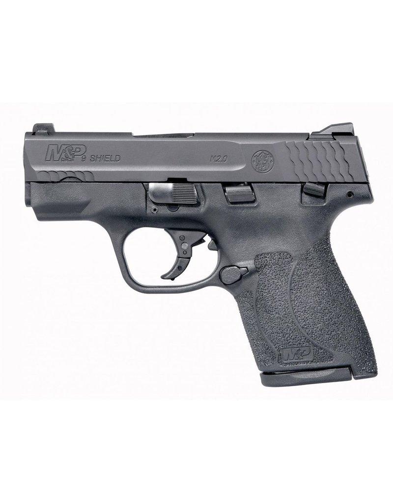 "S&W S&W M&P9 Shield M2.0 3.1"" 9mm FS Black 7&8rd w/ Thumb Safety (11806)"