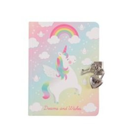 Sass & Belle Diary Rainbow Unicorn