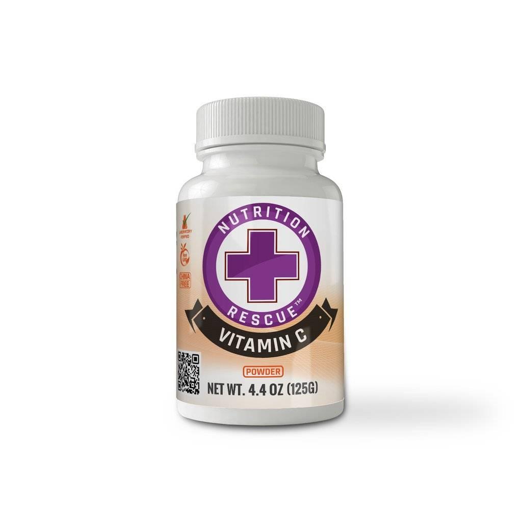 Health Ranger HR Nutrition Rescue Non-GMO Vitamin C Powder