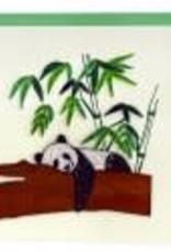 Sleepy Panda Quilling Card