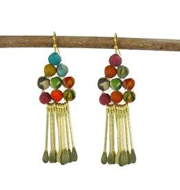 Kantha Chime Earrings
