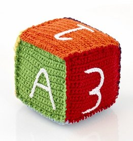 Rainbow Toy Block Rattle