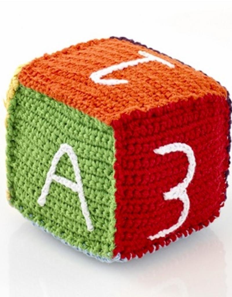 Rainbow Toy Block Rattle