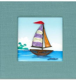 Sailboat Sticky Note