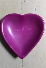 Let It Go Heart Dish