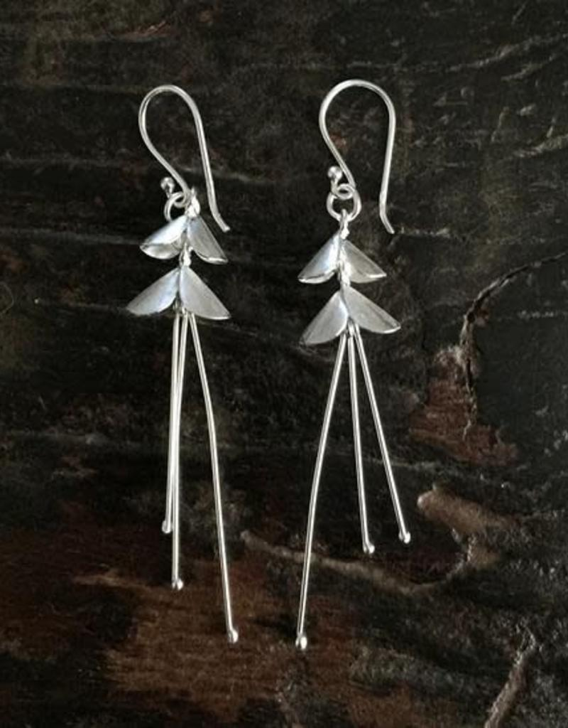 Silver Hill Tribe Ballerina Earrings