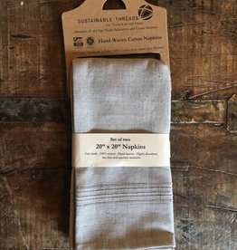 Cotton Napkins, Sea Salt