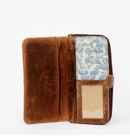 India, Lali Brown Leather Wallet