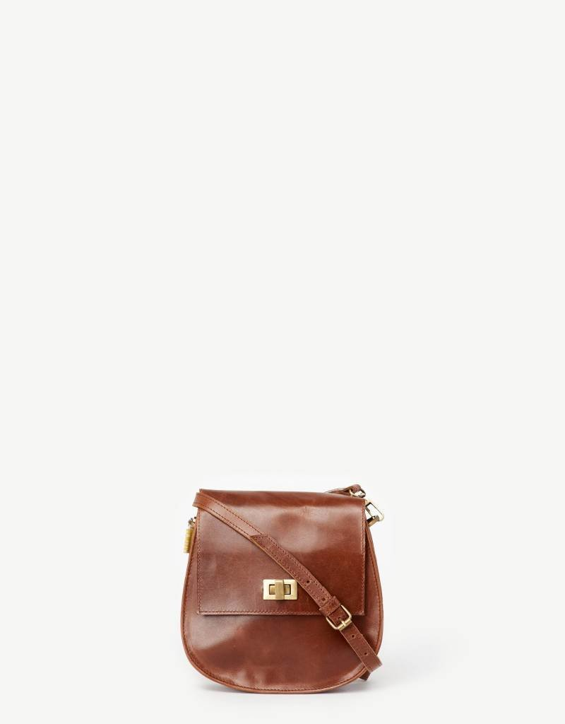 India, Sering Brown Leather