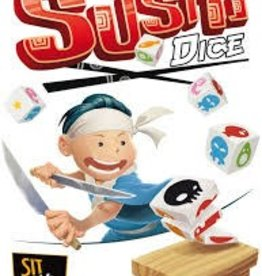 Sit Down Sushi Dice (ml)