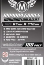 Mayday Games 7113 Sleeve «magnum platinum» 61mm X 112mm / 100