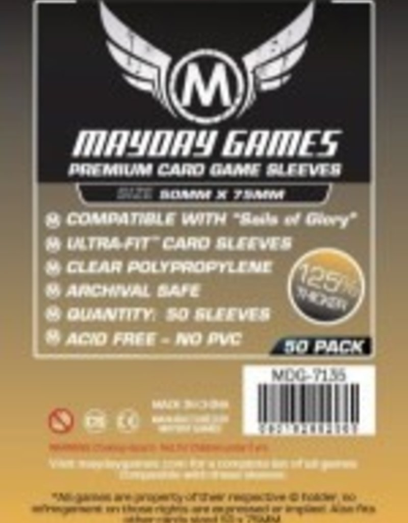 Mayday Games 7135 Sleeve  «Sails of Glory» 50mm X 75mm / 100