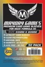 Mayday Games 7137 Sleeve «Race! Formula 90» 55mm X 80mm / 50