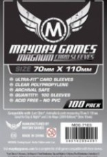 Mayday Games 7103 Sleeve «magnum silver» 70mm X 110mm / 100