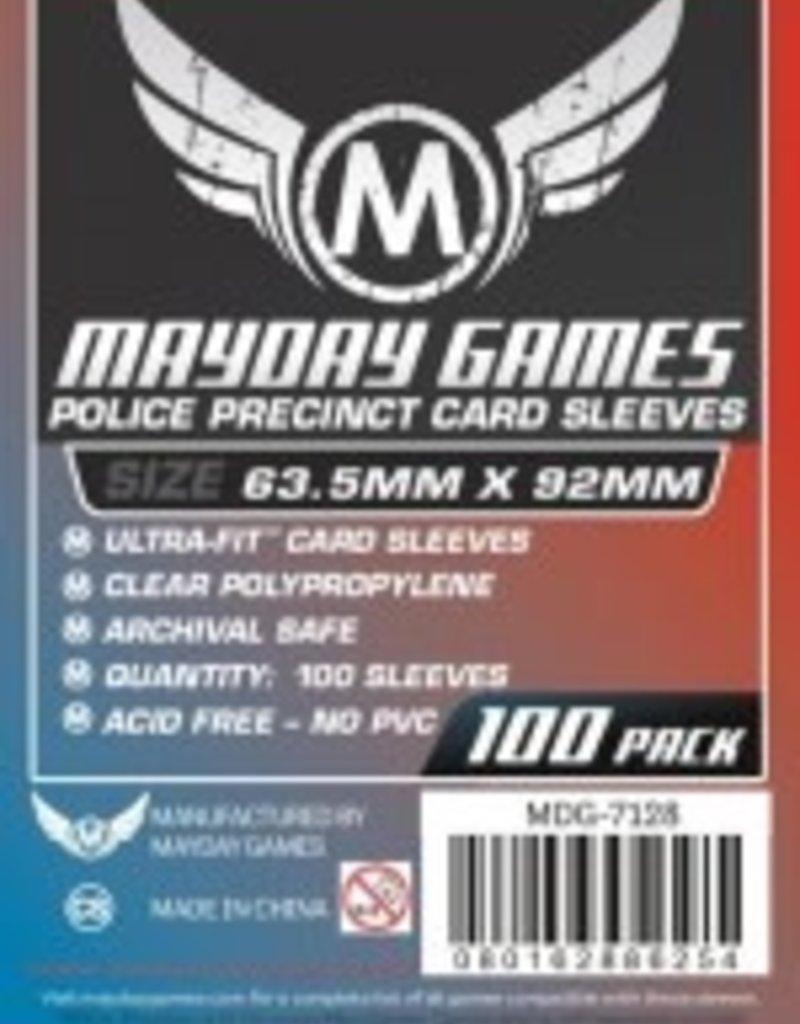 Mayday Games 7128 Sleeve «Police Precinct» 63.5mm X 92 mm / 100