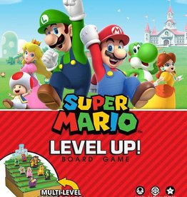 USAopoly Super Mario Level Up! Game (EN)