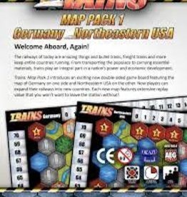 Alderac Entertainment Group Trains Map Pack 1 (EN)