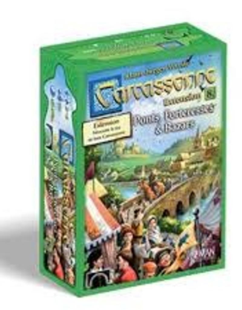 Z-Man Games Carcassonne Ext. Bazars, Ponts et Forteresses (FR)
