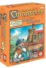Z-Man Games Carcassonne: Ext. Maire et Monastères (FR)
