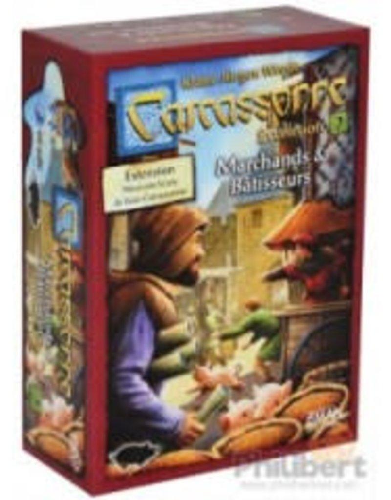 Z-Man Games Carcassonne: Ext. Marchands et Bâtisseurs (FR)