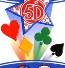 5ieme dimension International inc. Carte 5 Dimensions Version Rouge 80 cartes (FR)