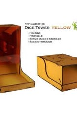 Bandua Wargame Dice Tower - yellow
