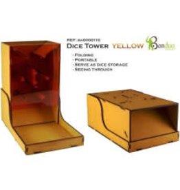 Bandua Wargame Dice Tower - yellow