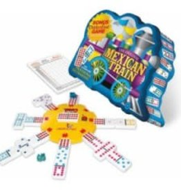 Wood Expressions Dominoes Double 12 Mexican Train (EN)