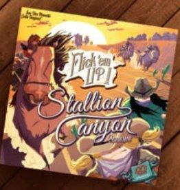 Pretzel Flick'em Up!: Ext. Stallion Canyon (ML)