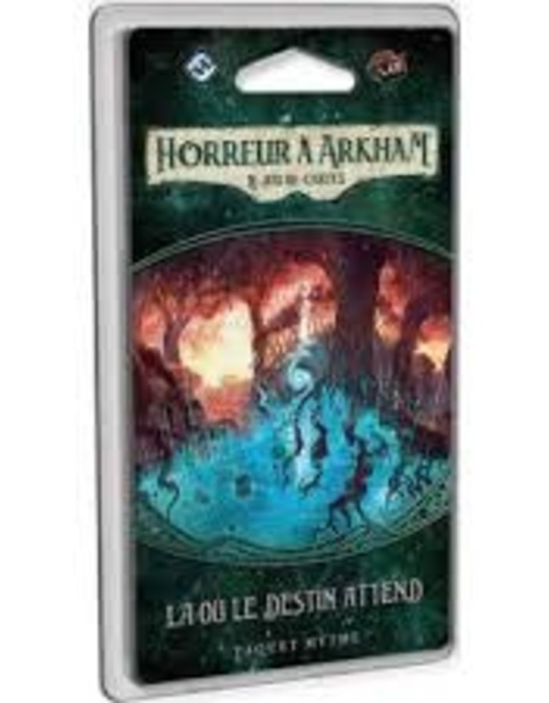 Fantasy Flight Horreur à Arkham (Ljc): La Où le Destin Attend